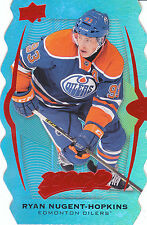 16/17 UPPER DECK MVP COLORS CONTOURS LEVEL 3 TEAL #223 RYAN NUGENT-HOPKINS 20017