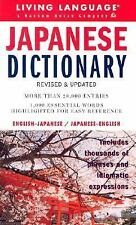 LL Complete Basic Courses: Japanese Dictionary by Living Language Staff...