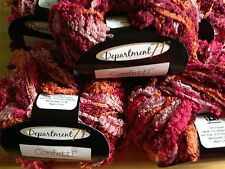 Department 77 Confetti Yarn  Lot of 5   LAGOON   #6 Super Bulky    large lot
