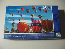 500 pc Puzzle, Puzzlebug: Fiftoff at Balloon Festival in NM, Brand New & Sealed