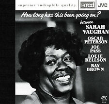 SARAH VAUGHAN How Long Has This Been Going On Peterson Pass Brown JVC XRCD JAPAN