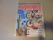DECEMBER 2006 MOTOCROSS ACTION MAGAZINE,GLEN HELEN PHOTO FEST,SIKK RACING,CRF150