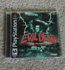 Evil Dead Hail to the King Sony Playstation PS1 Complete - THQ