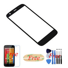 Front Outer Glass Lens Screen Replacement For Motorola Moto G XT1032 Black +tool