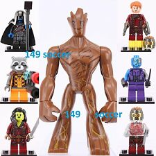 7ps Guardians of the Galaxy Groot Star Lord Gamora Rocket  Super Hero Fits Lego