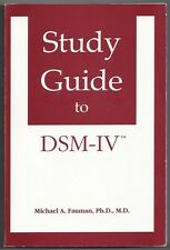 Study Guide to DSM-IV by Michael A. Fauman (1994, Paperback)