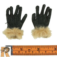 Soldier of Fortune 3 - Leather Gloves w/ Fur - 1/6 Scale - Art Action Figures