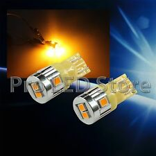 T10 192 High Power LED 2835 6smd Chips Bright Amber Yellow Interior Light