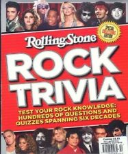 ROLLING STONE MAGAZINE ~ ROCK TRIVIA ~ SPECIAL EDITION ~TEST YOUR ROCK KNOWLEDGE