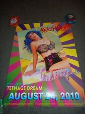 "KATY PERRY - ORIGINAL SS CALIFORNIA GURLS PROMO POSTER - 18"" X 24"""