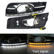 DRL LED Fit Chevrolet Cruze 2009-13 Daytime Running Lights Turn Signal Fog Lamp
