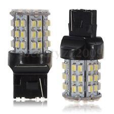 2X COPPIA LAMPADE LAMPADINE AUTO T20 7440 3020 64 LED 3020 SMD DC 12V 6W BIANCO