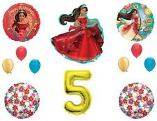 ELENA OF AVALOR 5TH Happy Birthday Party Balloons Decoration Supplies Disney