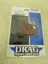 NEW DRAG SPECIALTIES AMBER LED LICENSE PLATE MOUNTING LIGHT KIT DS-190406