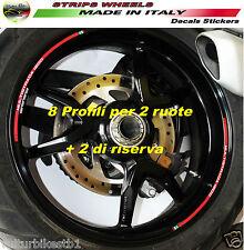 Adesivi per ruote Ducati Multistrada 1200 profili cerchi V326