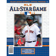 DAVID ORTIZ PROGRAM 2013 ALL STAR GAME BOSTON RED SOX WORLD SERIES CHAMPION