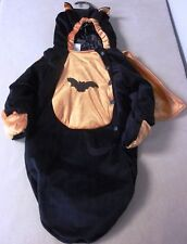 BAT ONE PIECE BUNTING SACK BAG HALLOWEEN COSTUME BABY INFANT TODDLER XS 0-9 MOS