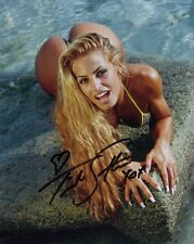 WWE Wrestling Divas Trish Stratus Poster Bent Over Autograph Reprint 8x10 Photo