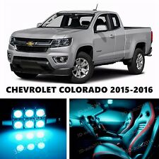 15pcs LED ICE Blue Light Interior Package Kit for Chevrolet COLORADO