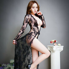 Hot&Sexy Women's Lingerie Nightwear Underwear Baby Sleepwear lace Dress G-string
