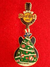 HRC Hard Rock Cafe Washington Christmas 2005 National Tree Guitar LE300