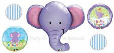 5 PC It's a BOY Elephant Baby Bouquet Shower ALL NEW FREE SHIP