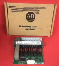 Allen Bradley SLC500 Output Module Cat # 1746-OW16, Series D, 85-265 VAC Out