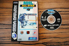 Jeu NHL ALL-STAR HOCKEY pour SEGA SATURN CD OK (pas de notice)