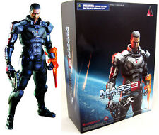 Mass Effect 3 video game Commander Shepard KAI 9in Action Figure Square Enix  P