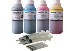 Refill ink for HP 63 63XL OfficeJet 3830 4650 ENVY 4520 All-in-One 4x250ml