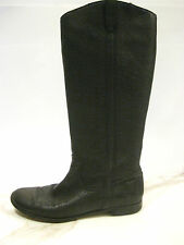 Sambag Sz 39, 8, 8.5 Black Knee High Designer Boots