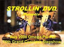 STROLLIN': Omega Psi Phi 75th Grand Conclave 2008 DVD