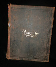 PORTRAIT, GENEALOGICAL, and BIOGRAPHICAL RECORD STATE OF UTAH 1902 LDS Mormon