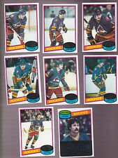 1980 / 81 Topps Team SET lot of 8 Colorado ROCKIES NM+ McDonald ROBERT