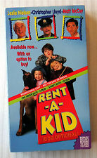 Rent-A-Kid ~ Rare Promotional Demo Tape Screener VHS Movie ~ Leslie Nielson
