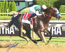 Arrogate Travers Stakes 8x10 Photo Signed Mike Smith New!