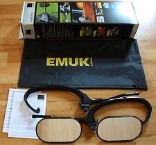 EMUK Caravana Caravana Espejos Espejos de remolque BMW X5 X6 E70 100070 NUEVO