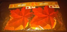 Fall Leaves Cut Outs Decorations - Set of 2 Packs