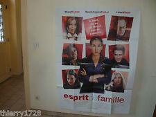 (39) AFFICHE DE CINEMA 120 X 160   ESPRIT DE FAMILLE