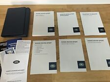 2014 LAND ROVER RANGE ROVER SPORT OWNERS MANUAL PKG CASE ORIGINAL 1358