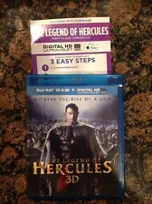 The Legend of Hercules 3D(Blu-ray Disc,2014,3D; Digital) Authentic US Release