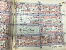 1929 PS 93 FLATBUSH CROWN HEIGHTS BROWER PARK BROOKLYN NEW YORK ATLAS MAP