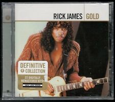 Gold by Rick James (Bass) (CD, Mar-2005, 2 Discs, Motown) FACTORY SEALED