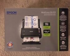 BRAND NEW Epson WorkForce DS-510 Wireless Color Document Scanner