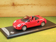 Solido Toyota MR2 in Red  1/43rd Scale