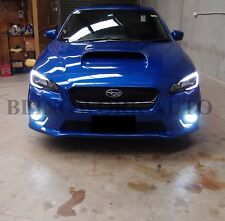 Super White H8 LG LED Fog Light bulb FOR MY15/16 Subaru WRX STI Ford mustang