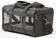 NEW Original Deluxe Carriers Pet Dog Cat Travel Bag Airline Sherpa SMALL BLACK