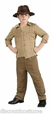 OFFICIAL INDIANA JONES CHILD HALLOWEEN COSTUME MED 8-10