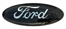 NEW Fit FORD F-150 F-250 350 OVAL EMBLEM FRONT GRILLE BLack 9 inch Long Badges