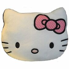 HELLO KITTY PLUSH BOW CUSHION - NEW